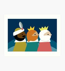 Lámina artística Los Reyes Magos