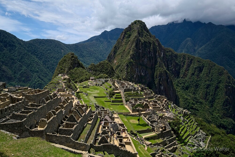 Lost City of the Incas - Machu Picchu by Lucinda Walter