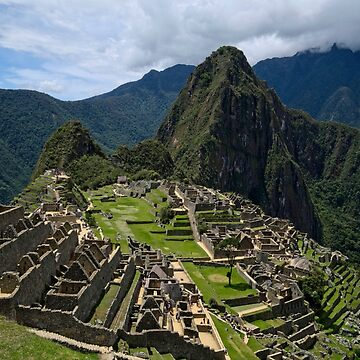 Lost City of the Incas - Machu Picchu by GVAZDesigns