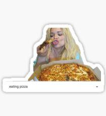 Trisha Paytas Eating Pizza Youtube Sticker
