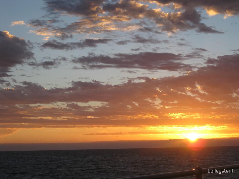 Brighton Sunset 1 by baileystent
