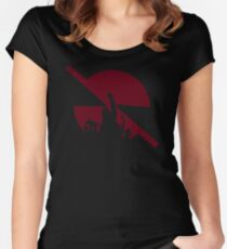 POPULAR VX574 Prophets Of Rage Again The Machine Concert Tour Black T Shirt Public Enemy Best Product Women's Fitted Scoop T-Shirt