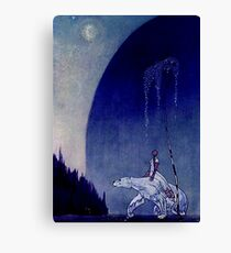Kay Nielson Illustration for Scandinavian Fairy Tales Canvas Print