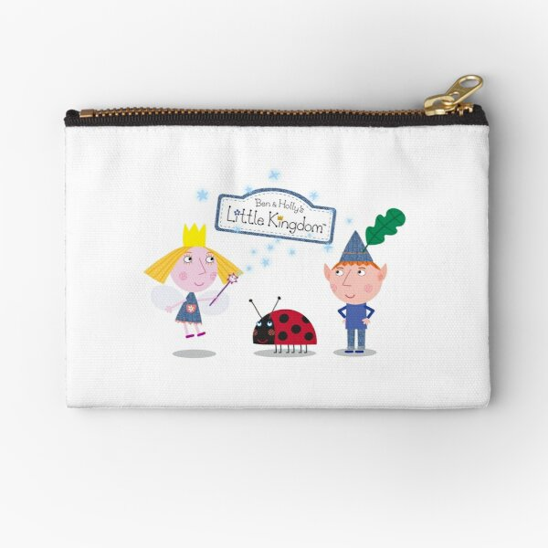 Ben and Holly Zipper Pouch