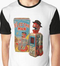 Electro Man Robot Vintage Japanese 50s- 60s Graphic T-Shirt