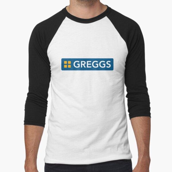 Greggs logo Baseball ¾ Sleeve T-Shirt
