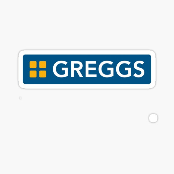 Greggs logo Sticker