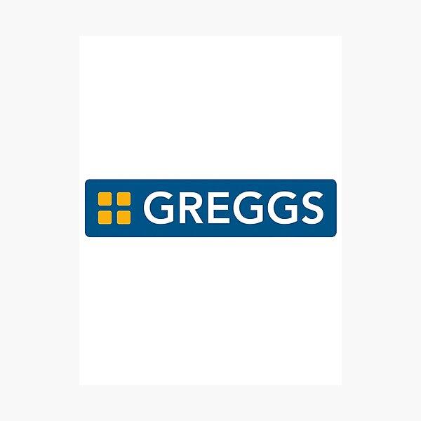 Greggs logo Photographic Print