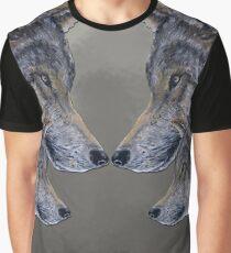 4 Wölfe /Wolves grau /grey Graphic T-Shirt