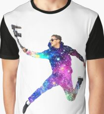 Space Casey Neistat Graphic T-Shirt