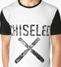 Chiseled Woodworking - Chisels - Muscles Graphic T-Shirt