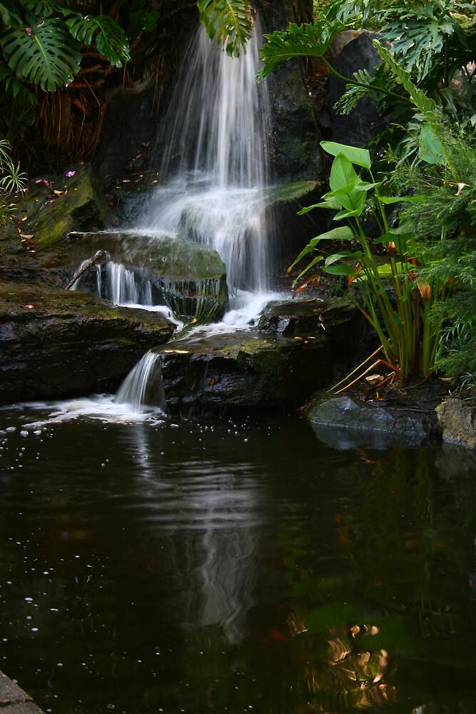 Waterfall in Brisbane by Ianec