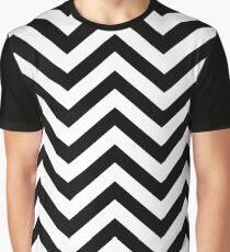 The Floor of Evil - Black & White Graphic T-Shirt