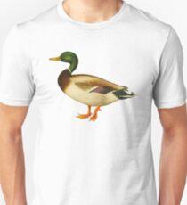 Mallard Duck, Wild Duck water fowl T-Shirt
