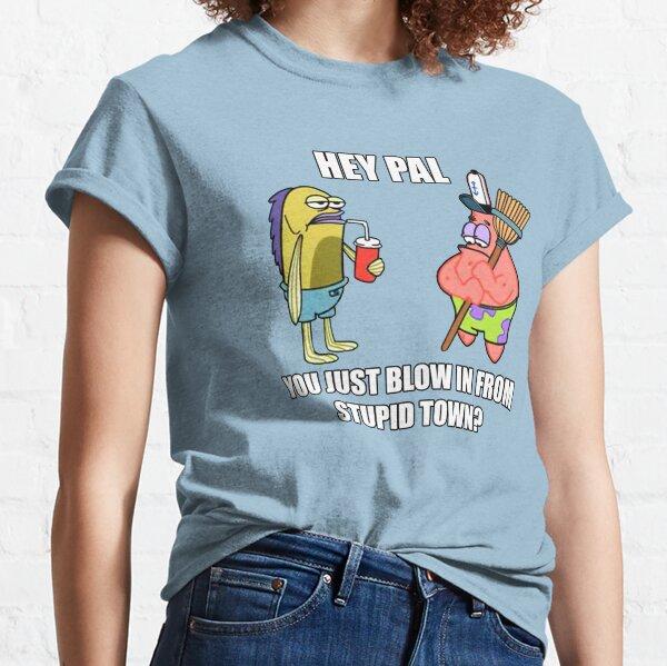 Bob Esponja - Pueblo estúpido Camiseta clásica