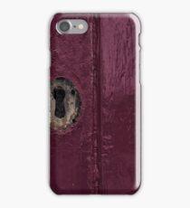 keyhole iPhone Case/Skin