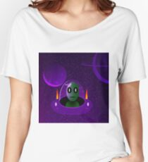 Alien space Women's Relaxed Fit T-Shirt