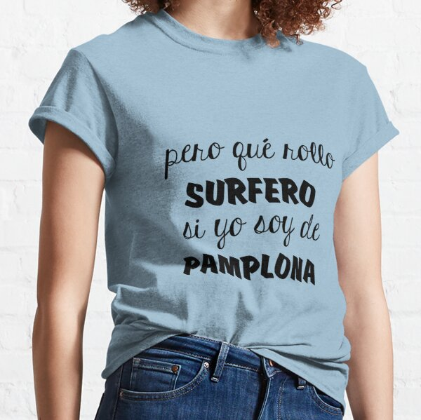 Amaia surfera Camiseta clásica