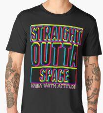CMYK Straight Outta Space 1 (dark) Men's Premium T-Shirt