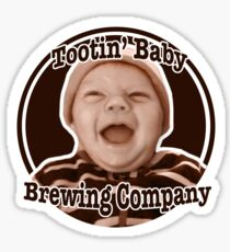 Tootin' Baby Brewing Company  Sticker