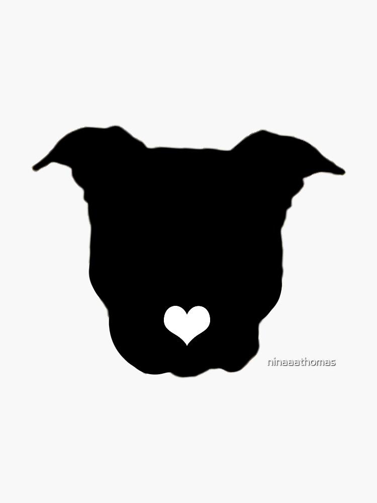 Pitbull Love by ninaaathomas
