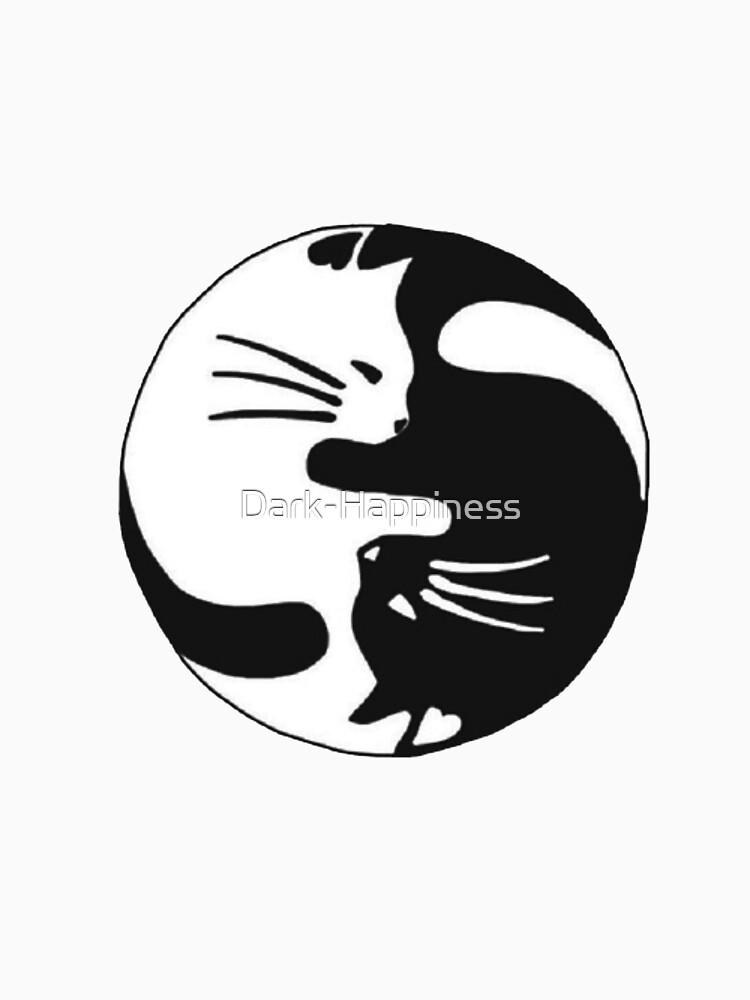 Yin and yang kitty by Dark-Happiness
