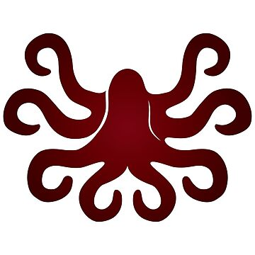 Octopus Sticker by pirateslife