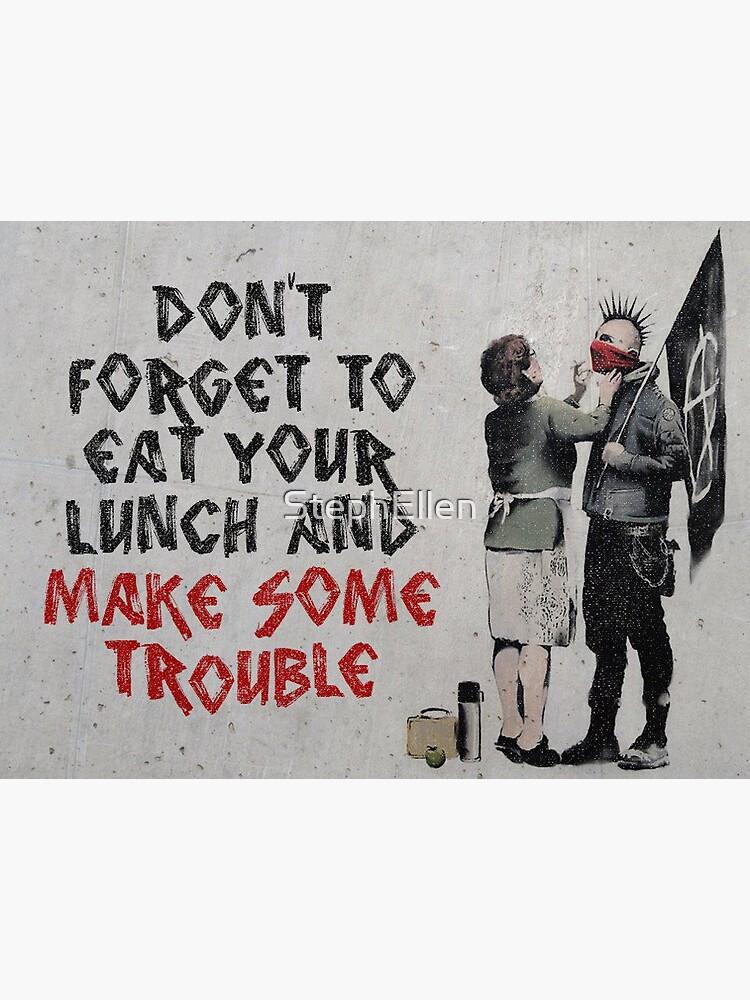 Banksy, anarchist by StephEllen