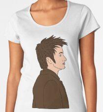 DAVID TENANT Women's Premium T-Shirt