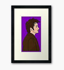 DAVID TENANT Framed Print