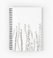 Pflanzen Spiralblock