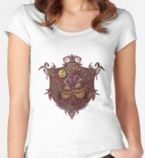 My Deer love ( Christmas Dont Starve Fanart 3 ) Women's Fitted Scoop T-Shirt