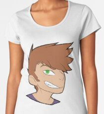 Pokemon Rival Green Women's Premium T-Shirt