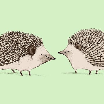 Two Hedgehogs by SophieCorrigan