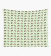 Two Hedgehogs Wall Tapestry