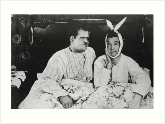 Laurel und Hardy von mburman1