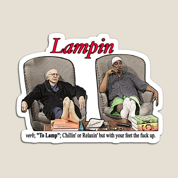 Lampin - Curb Your Enthusiasm Magnet