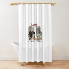 Lampin - Curb Your Enthusiasm Shower Curtain