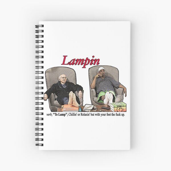 Lampin - Curb Your Enthusiasm Spiral Notebook