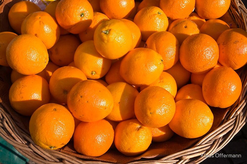 Oranges by Klaus Offermann