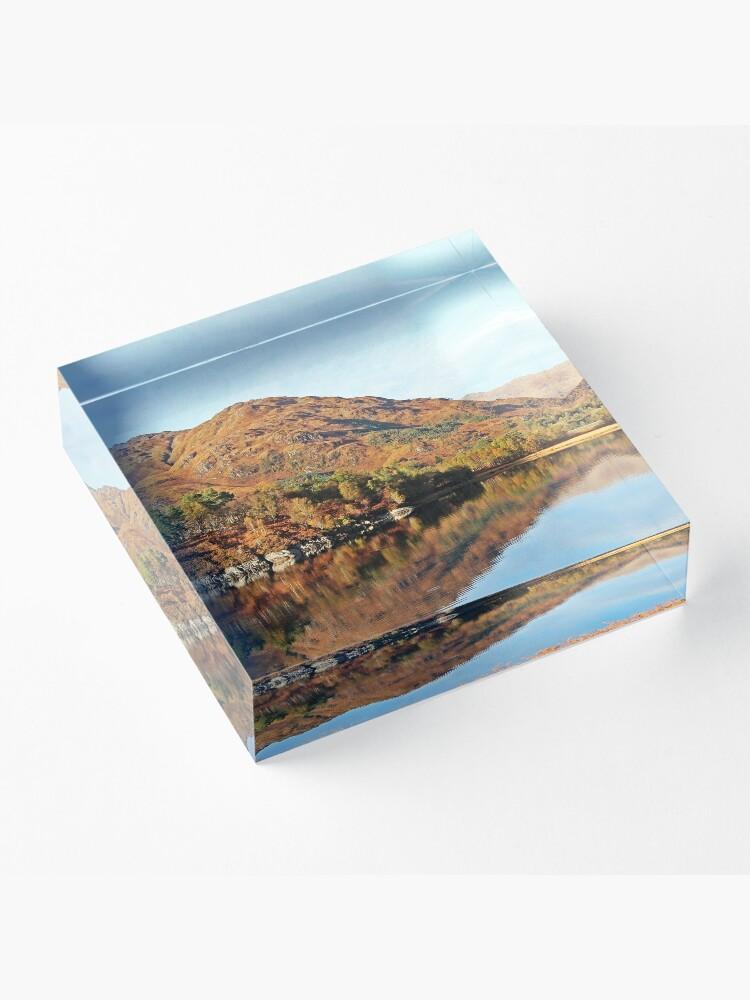 Alternate view of Glenfinnan & Loch Shiel Acrylic Block