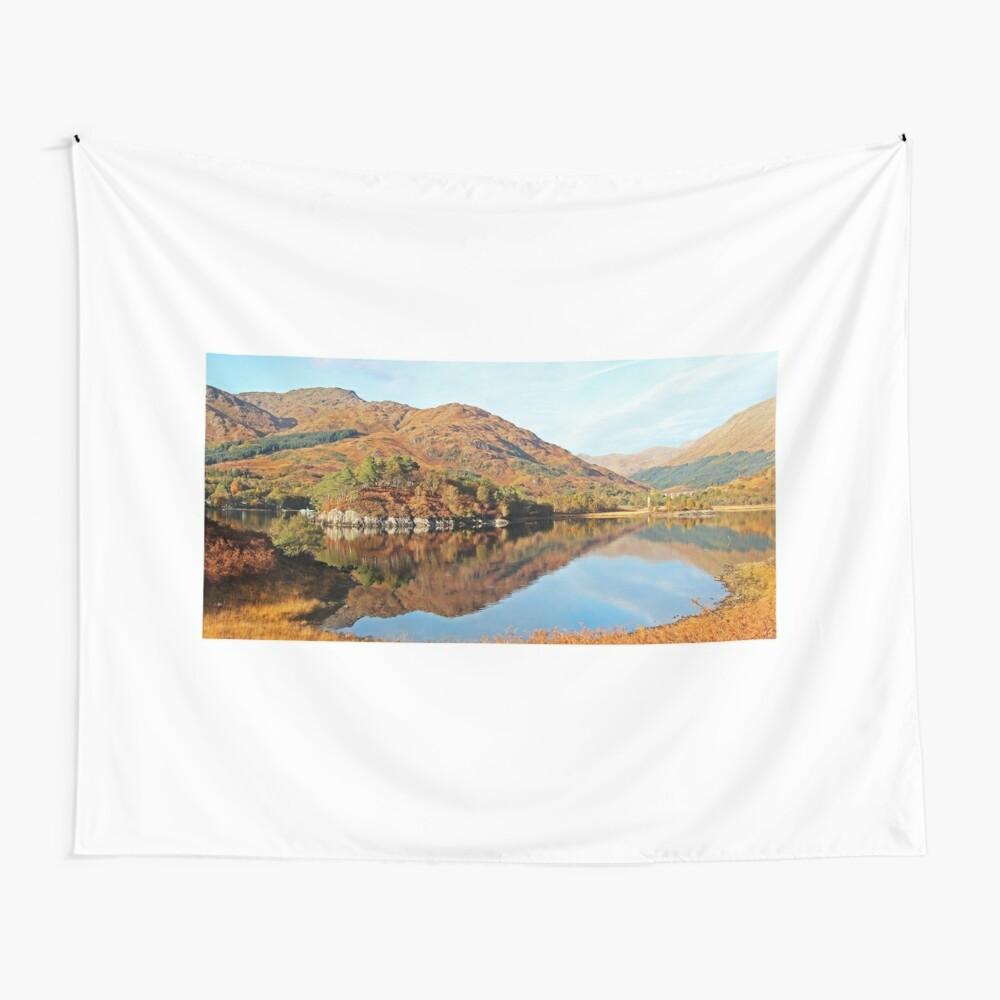 Glenfinnan & Loch Shiel Wall Tapestry