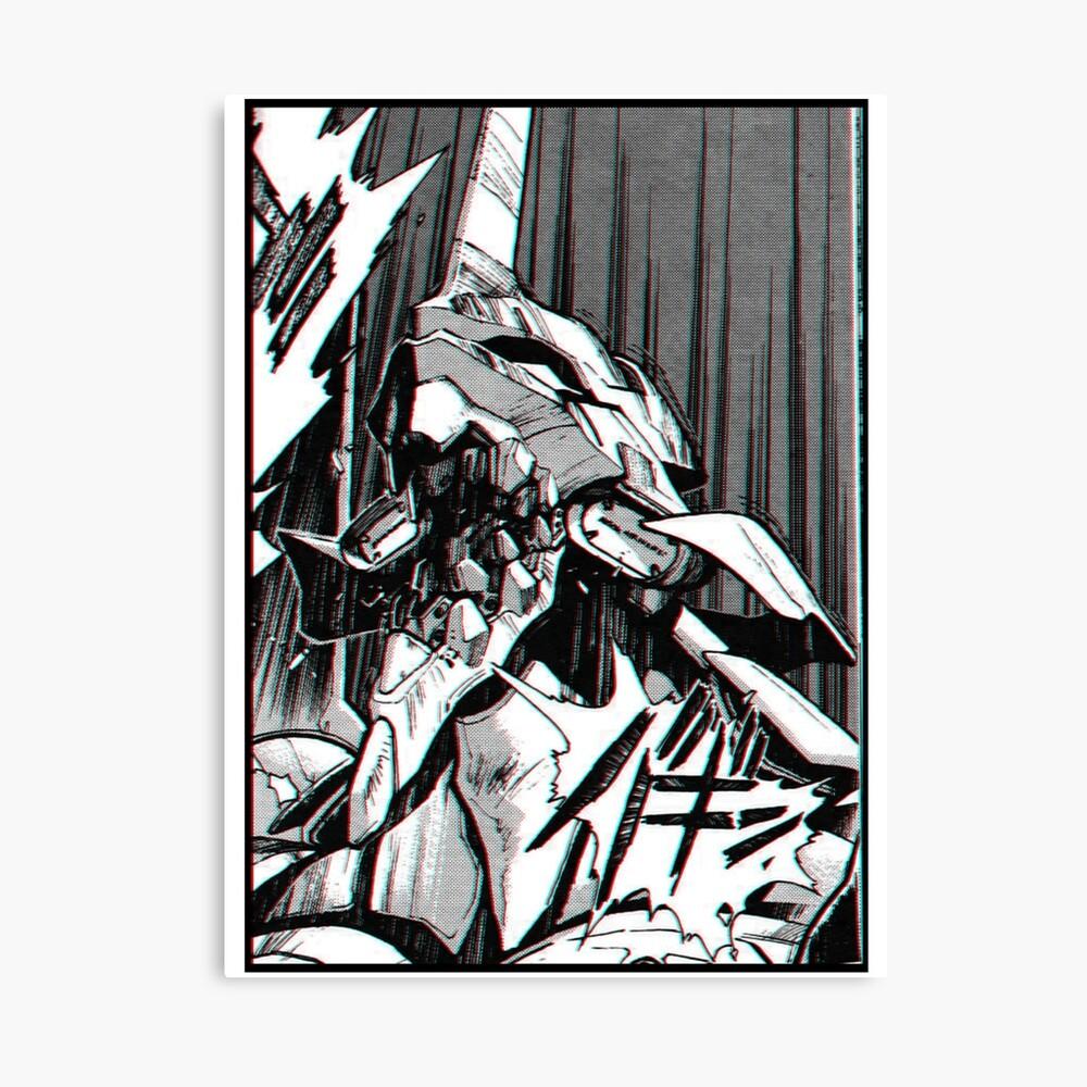 Evangelion 01 RAGE Leinwanddruck