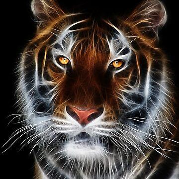 tiger by autrouvetout