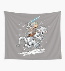 Calvin and Hoth Wall Tapestry