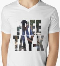 FREE TAY-K Men's V-Neck T-Shirt