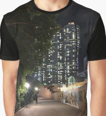 Night In The City Graphic T-Shirt