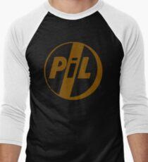 BEST T-SHIRT KE46 Public Image Ltd Pil Punk Band T Shirt Trending Men's Baseball ¾ T-Shirt
