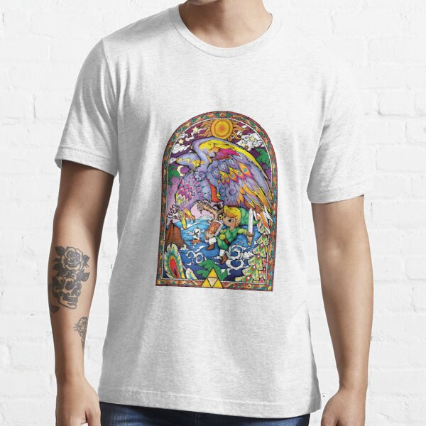 Zelda stained glass (Beautiful) Essential T-Shirt