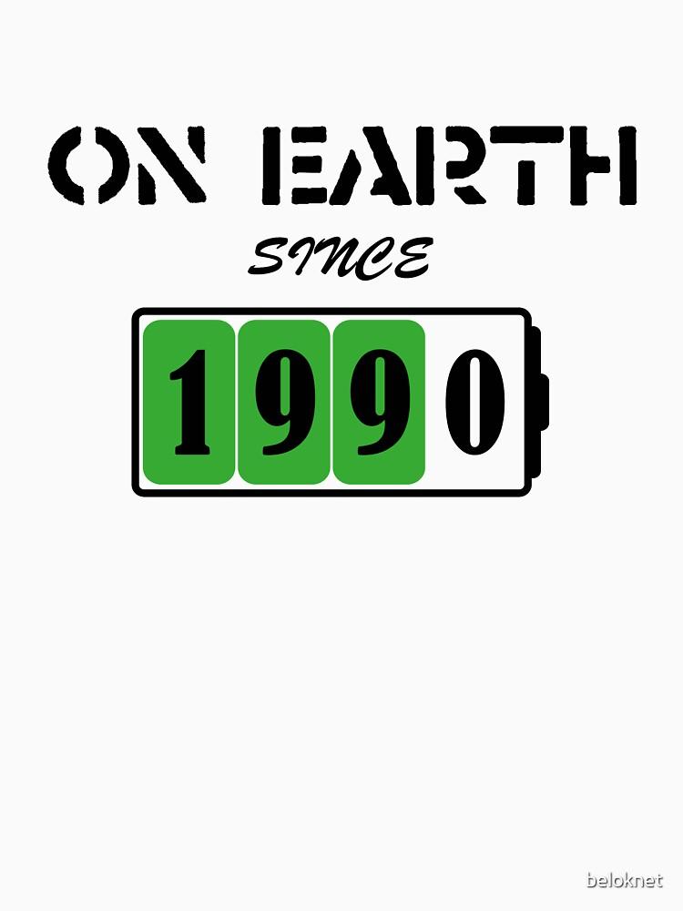 On Earth Since 1990 by beloknet